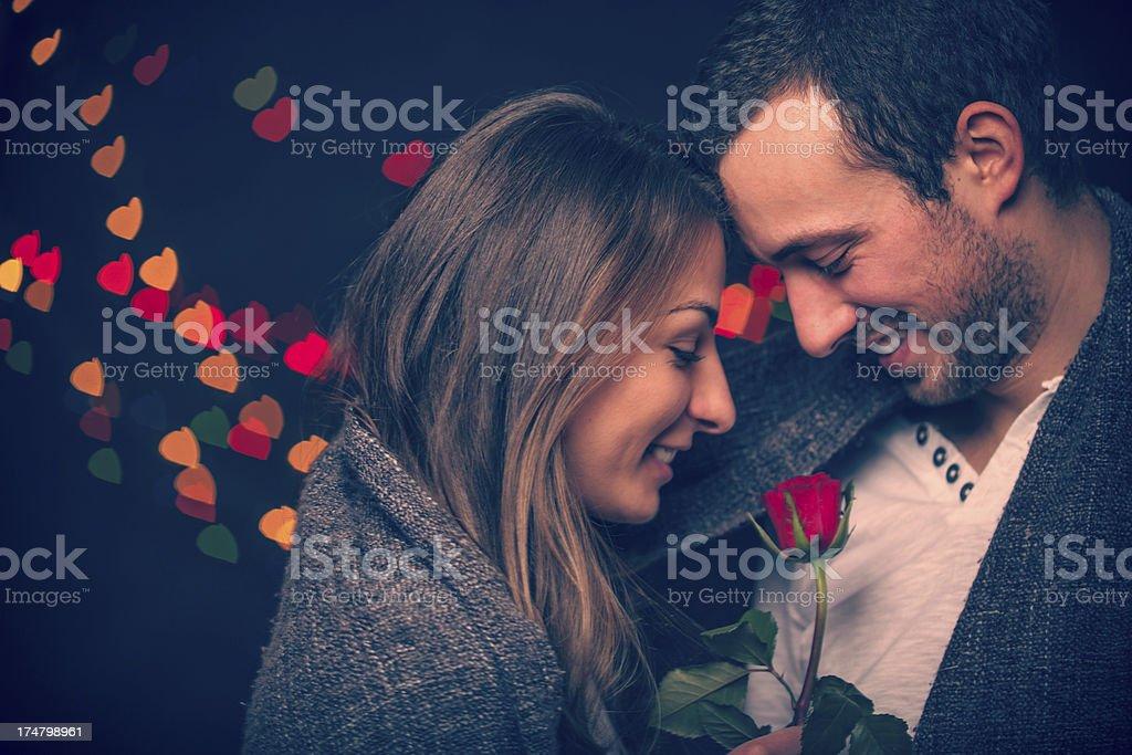Valentine's flower stock photo
