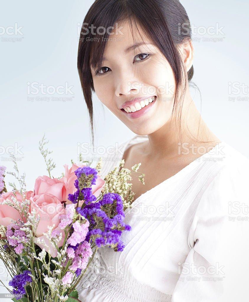 Valentine's Flowers stock photo