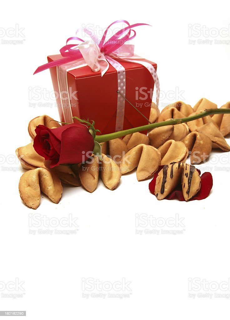 Valentines Fortune royalty-free stock photo