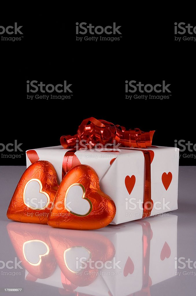 Valentines gift stock photo