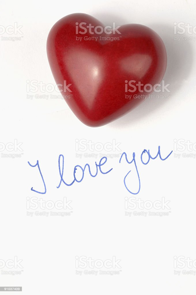 Valentine?s greeting card royalty-free stock photo