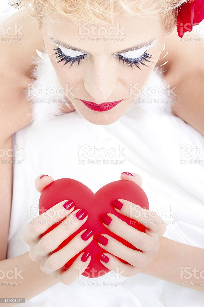 Valentine's heart royalty-free stock photo