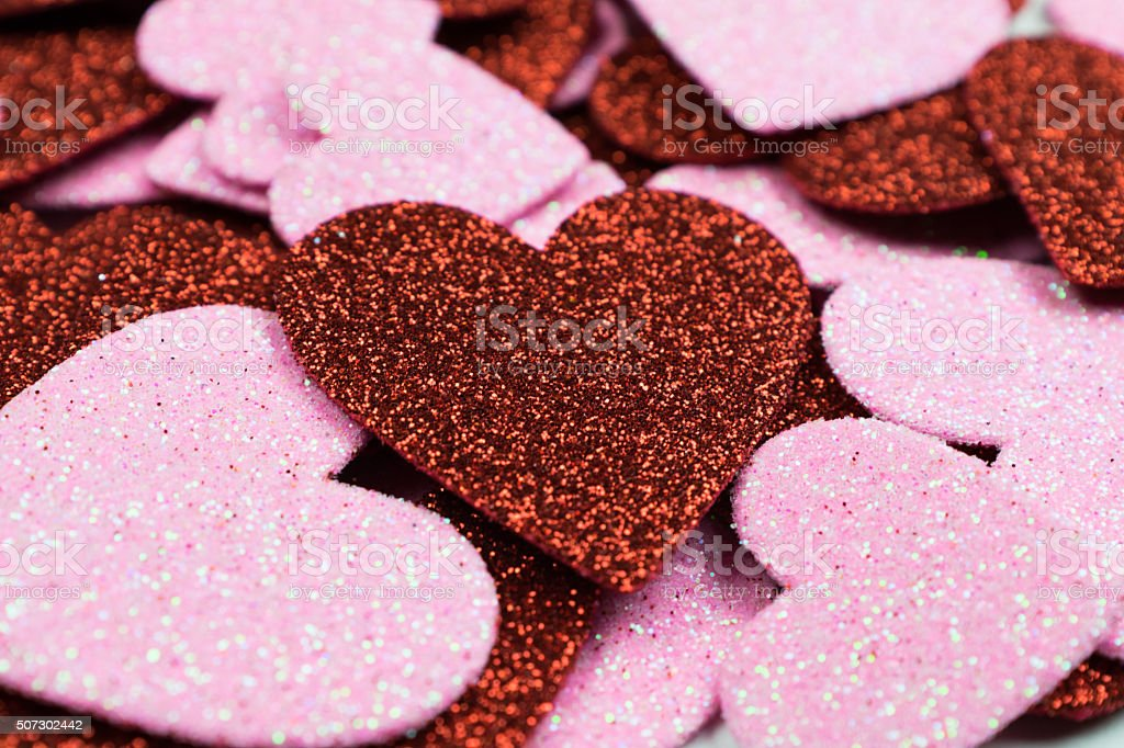 Valentines Hearts royalty-free stock photo