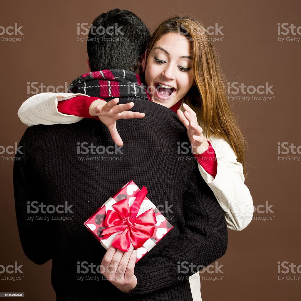 Valentine's Surprise stock photo