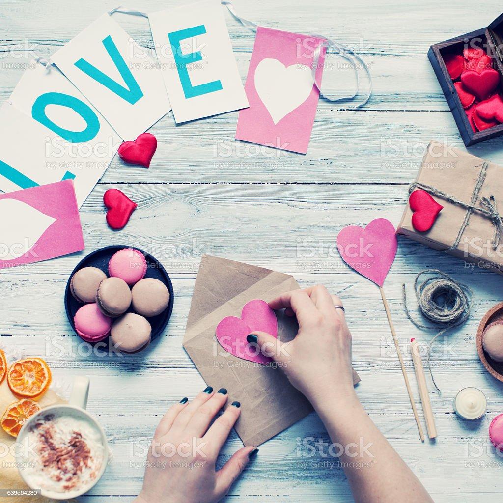 Valentines's day stock photo