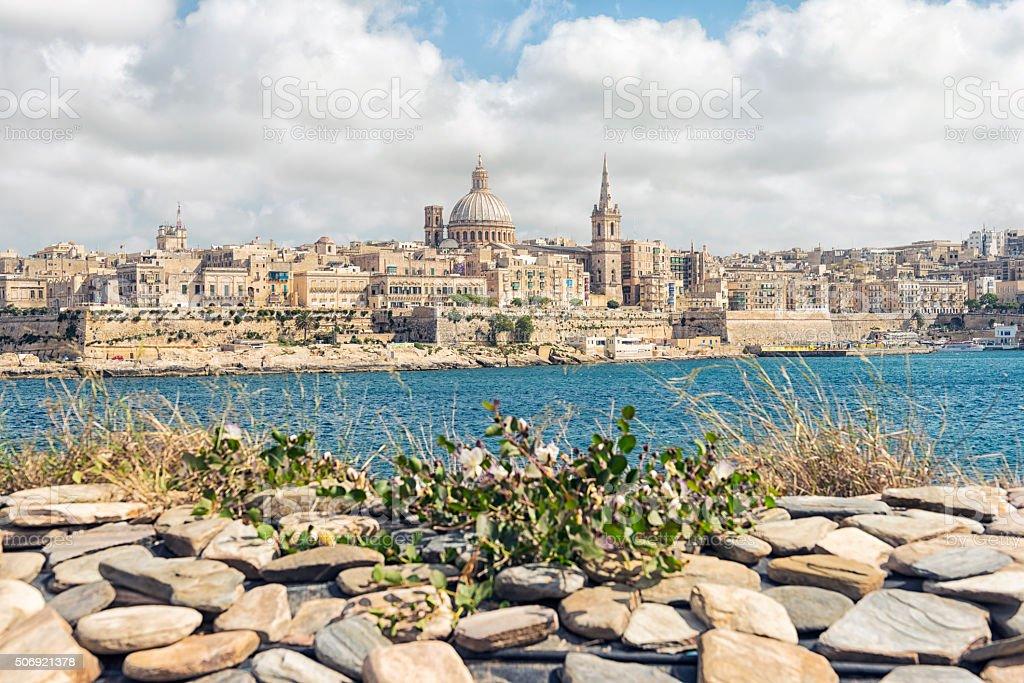 Valetta Malta stock photo