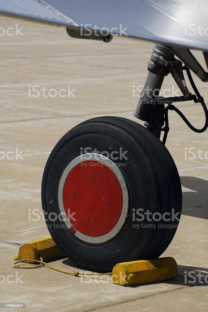 BT-13 Valiant Wheel and Wing stock photo