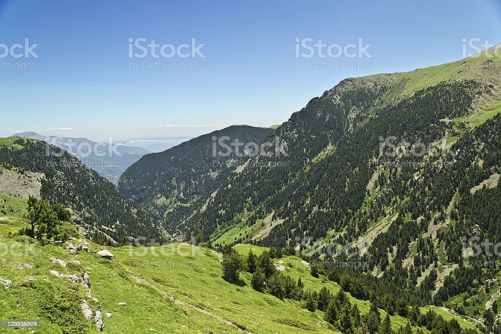 Vall de Nuria royalty-free stock photo