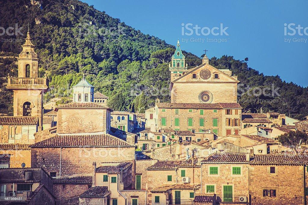 Valldemosa - Mallorca stock photo