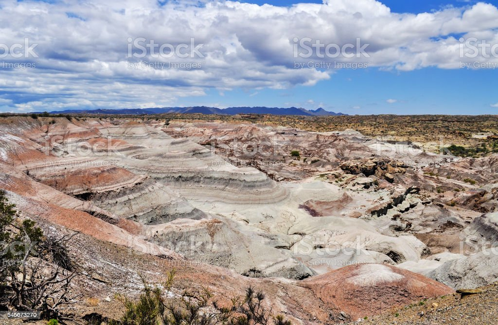 Valle de la Luna. Ischigualasto Provincial Park. Argentina stock photo