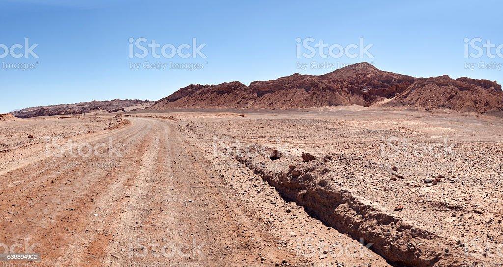 Valle de la Luna stock photo