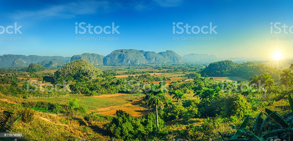 Valle de Vinales National Park, Cuba stock photo
