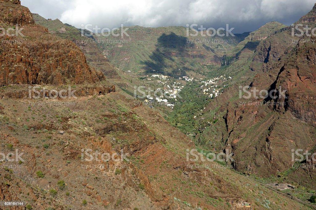 Valle Gran Rey, La Gomera, Canary Islands, Spain stock photo