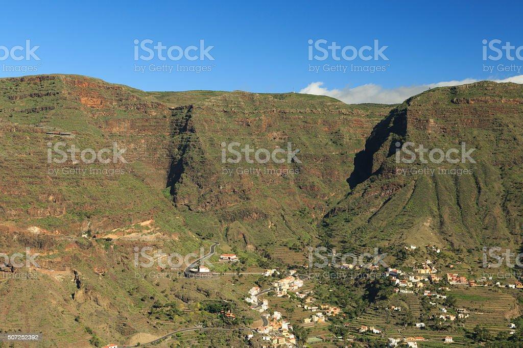 Valle Gran Rey stock photo