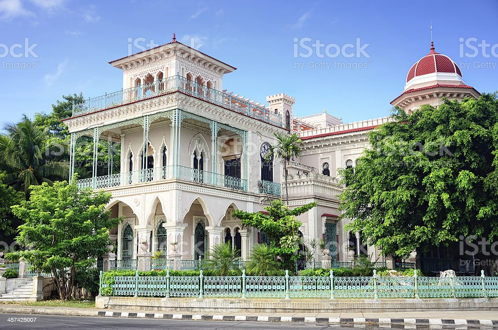 Palacio del Valle, Cienfuegos stock photo