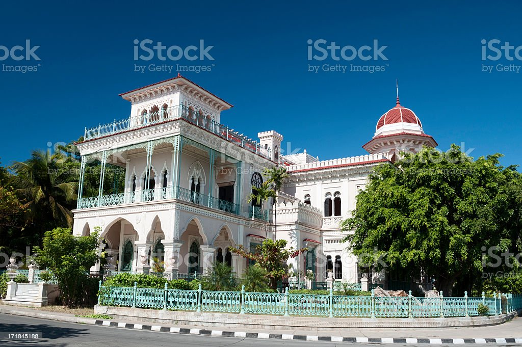 Palacio de Valle stock photo