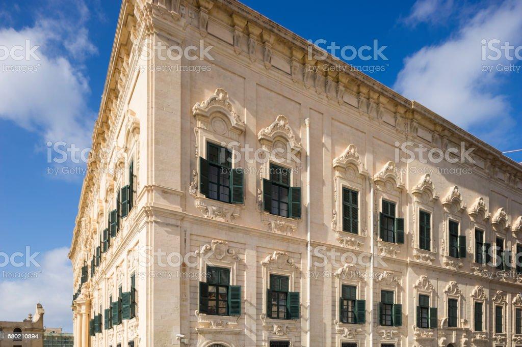 Valletta, Capital City of Malta stock photo
