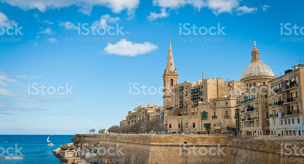 Valletta Vista stock photo