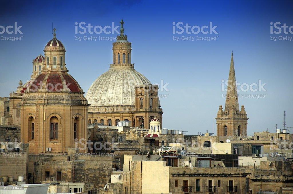 Valletta,Malta stock photo