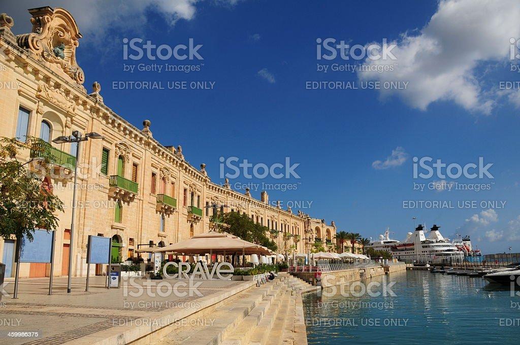 Valletta,Maltese Islands. stock photo