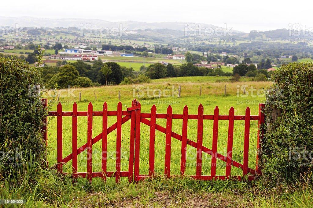 Valley Door royalty-free stock photo