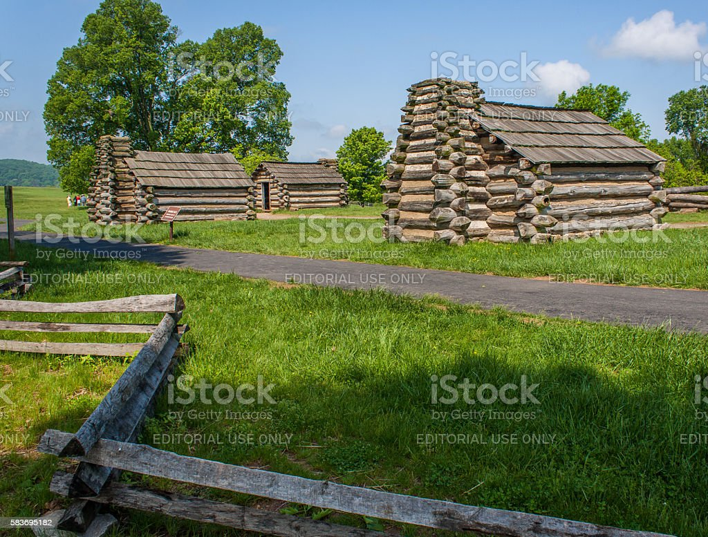 Valley Forge National Historical Park - Pennsylvania stock photo