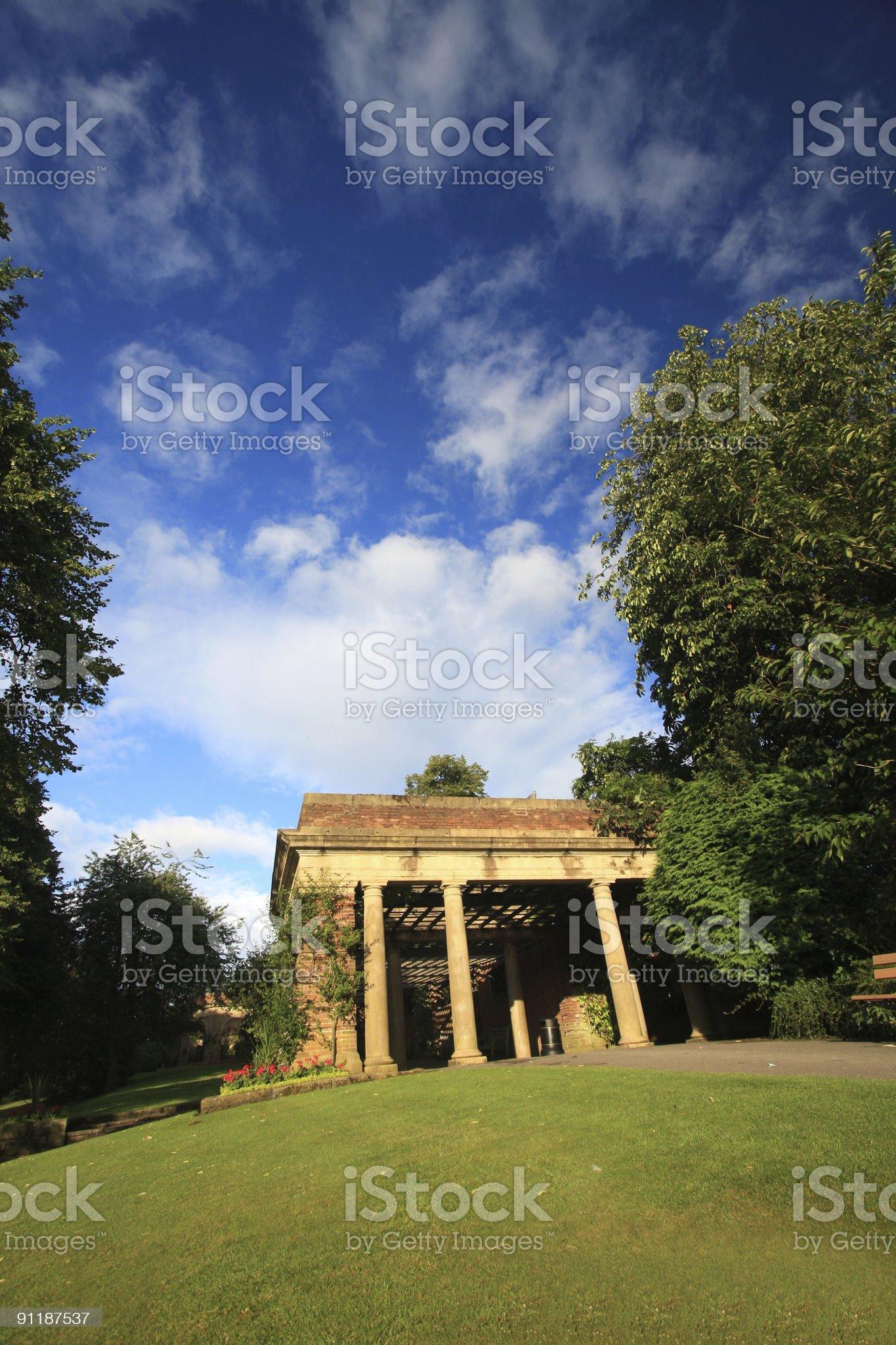 Valley Gardens royalty-free stock photo