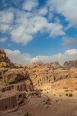 Valley in Petra Jordan