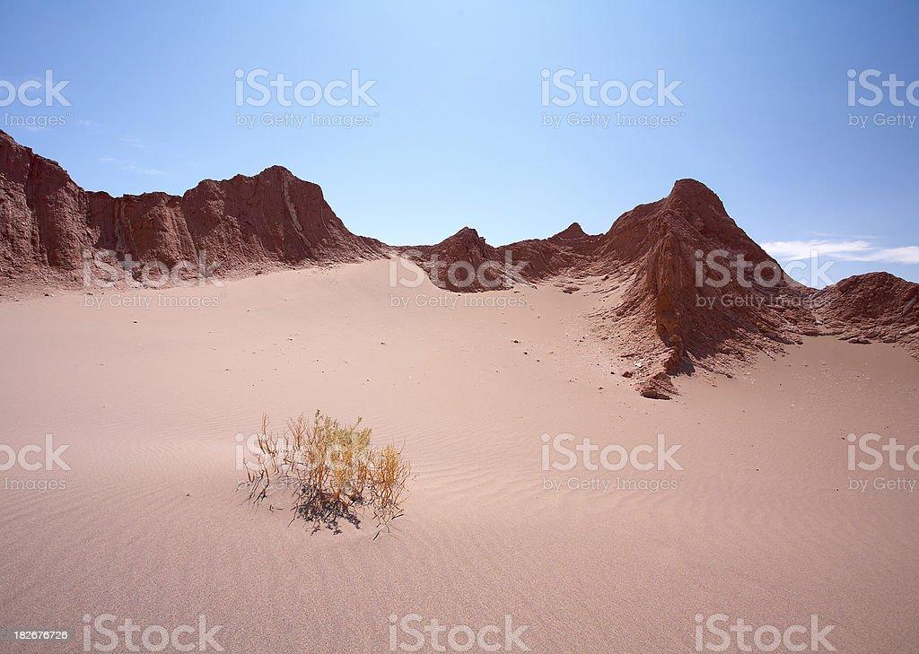 Valley of Death - Atacama Desert, Chile royalty-free stock photo
