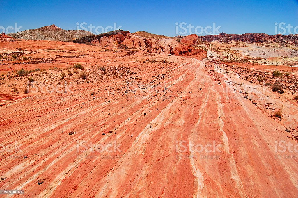 Valley of Fire National Park stock photo
