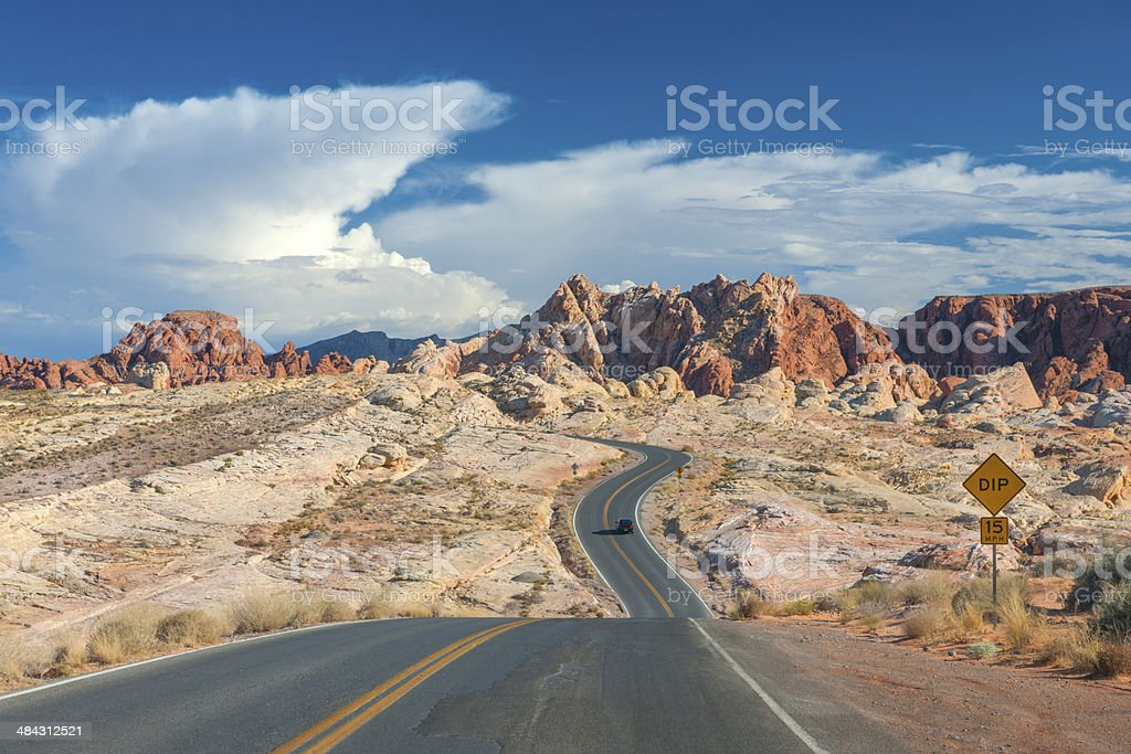 Valley of Fire, Nevada, USA stock photo