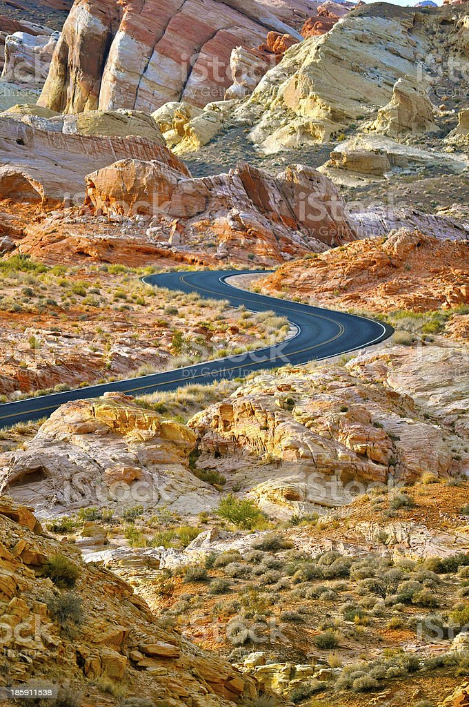 Valley of Fire royalty-free stock photo