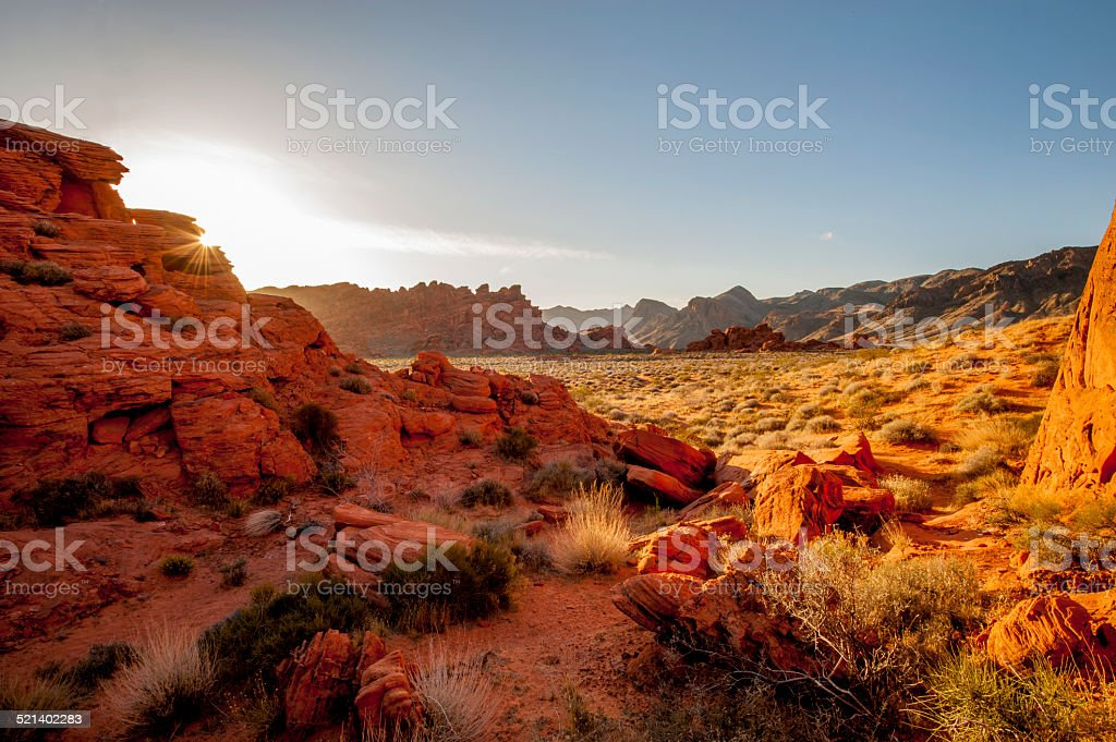 Valley of Fire State Park, Nevada, USA stock photo