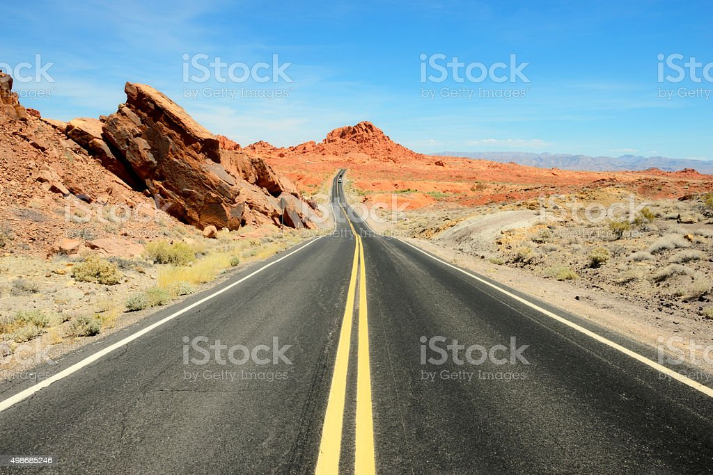 Valley of Fire, United States stock photo