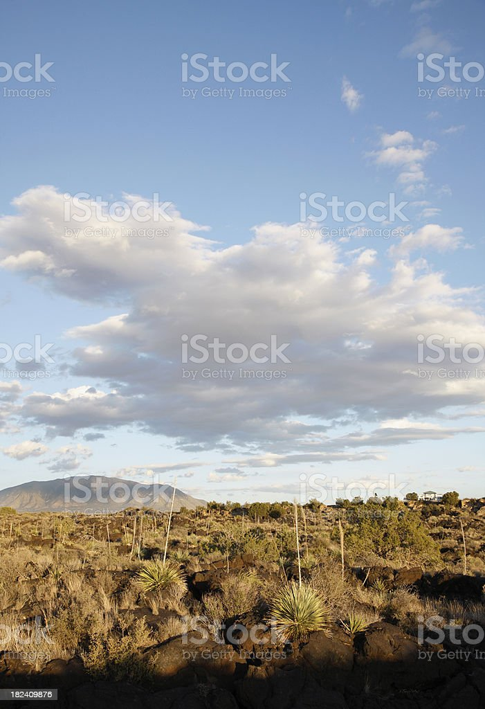 Valley of Fires Recreation Area New Mexico stock photo