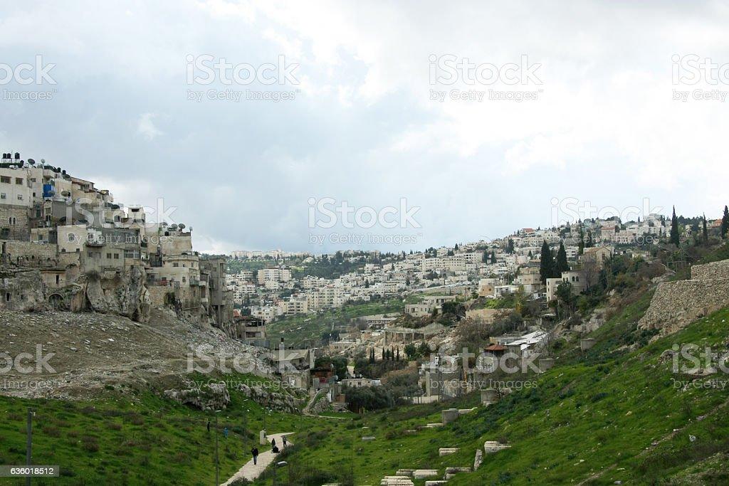 Valley of Hinnom stock photo