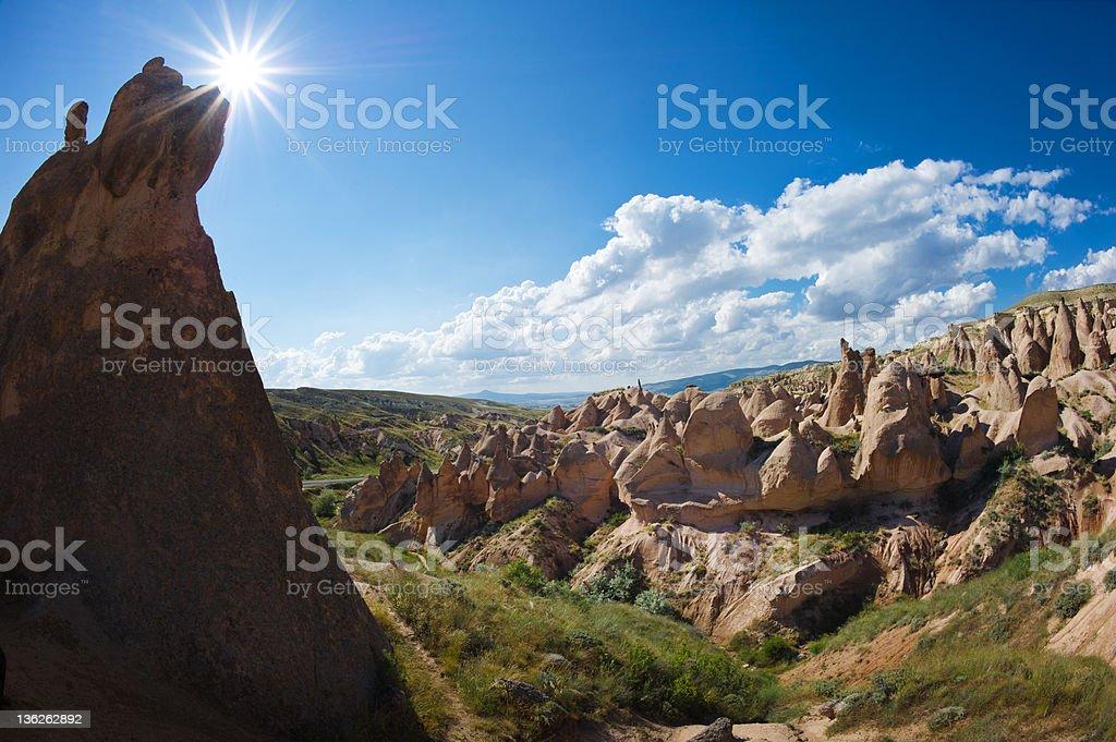 valley of imagination turkey stock photo