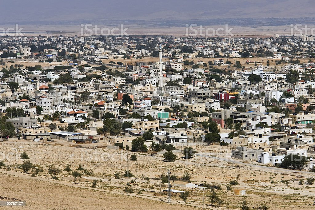 Valley of Jericho royalty-free stock photo