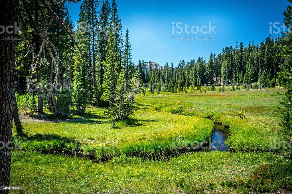 Valley of Kings Creek stock photo