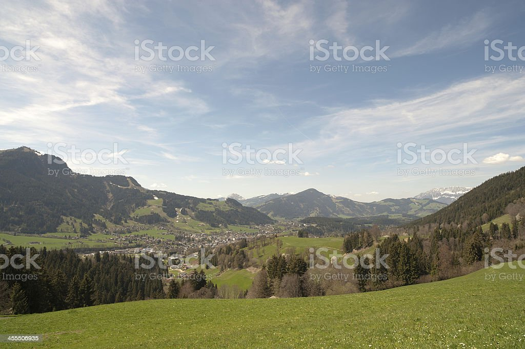 Valley of Kithb?hl stock photo