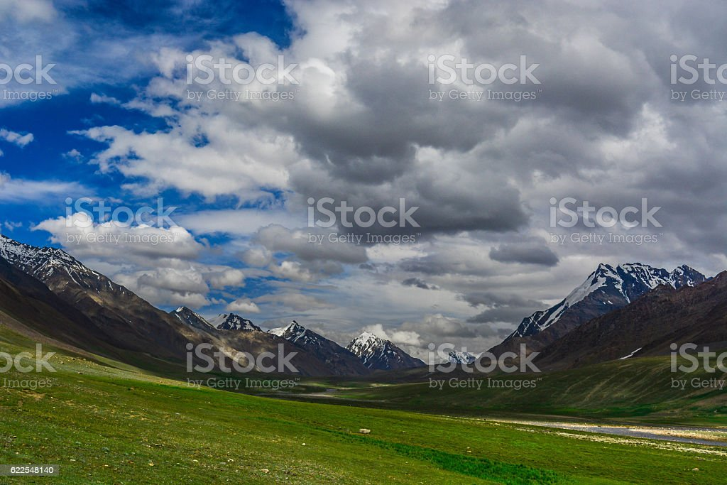 Valley Of People stock photo