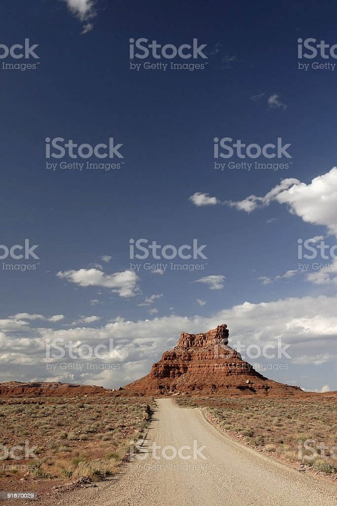 Valley of the Gods royalty-free stock photo