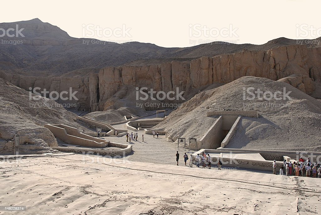 Valley of the Kings, Egypt stock photo
