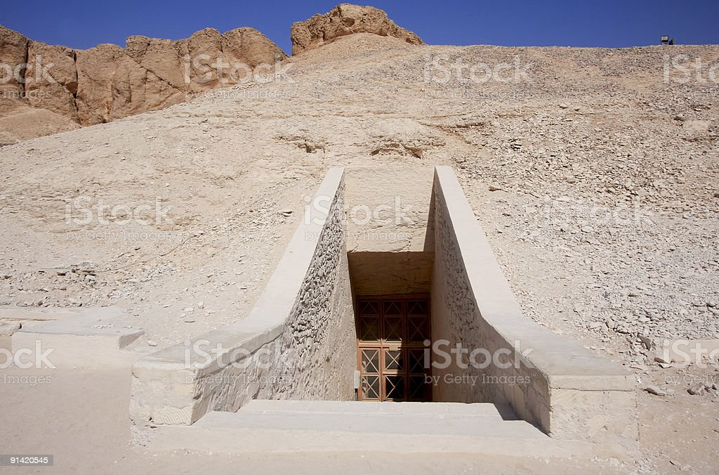 Valley of the Kings in Luxor, Egypt royalty-free stock photo