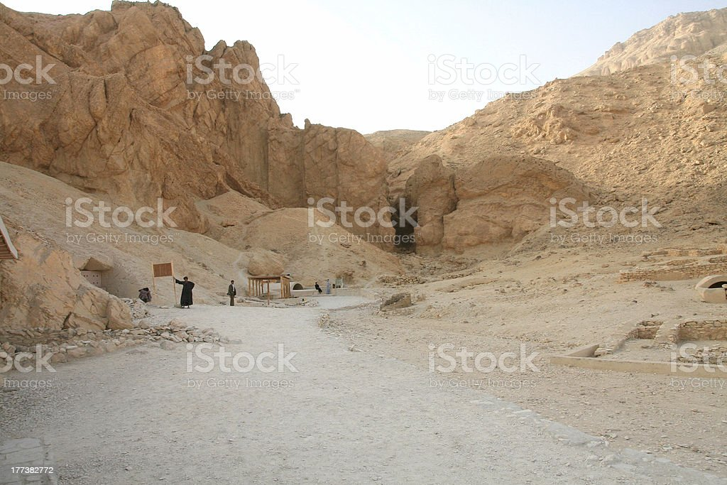 Valley of the Queens royalty-free stock photo