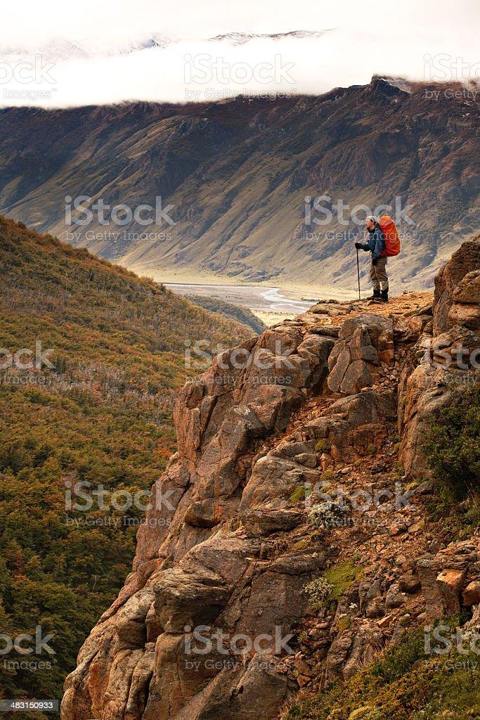 Valley Overlook royalty-free stock photo