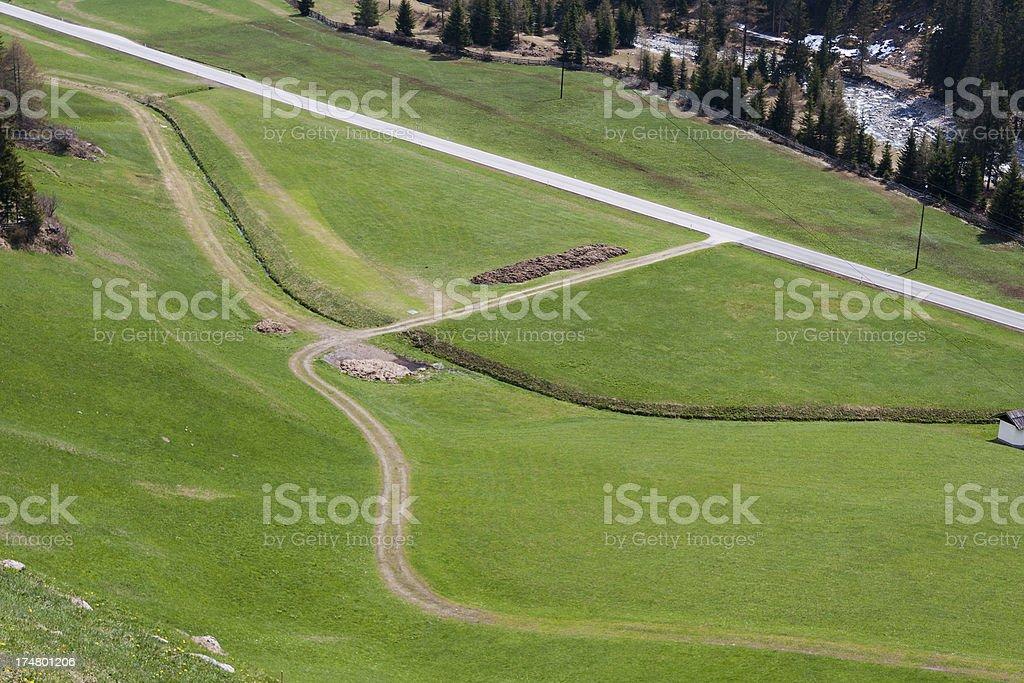 Valley Roads, Austria stock photo