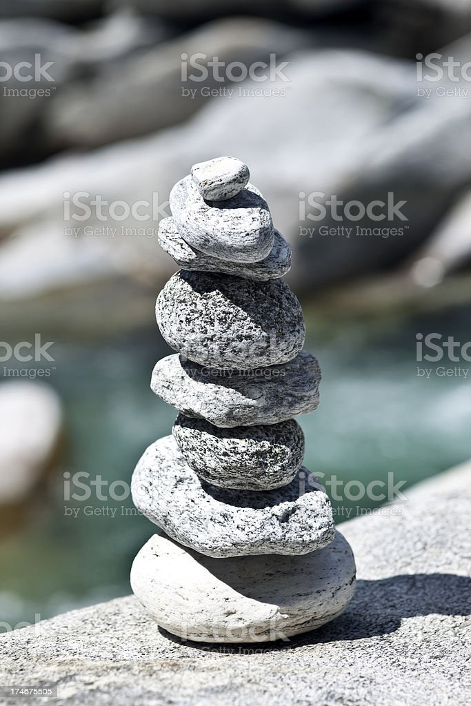 Valley Verzasca royalty-free stock photo