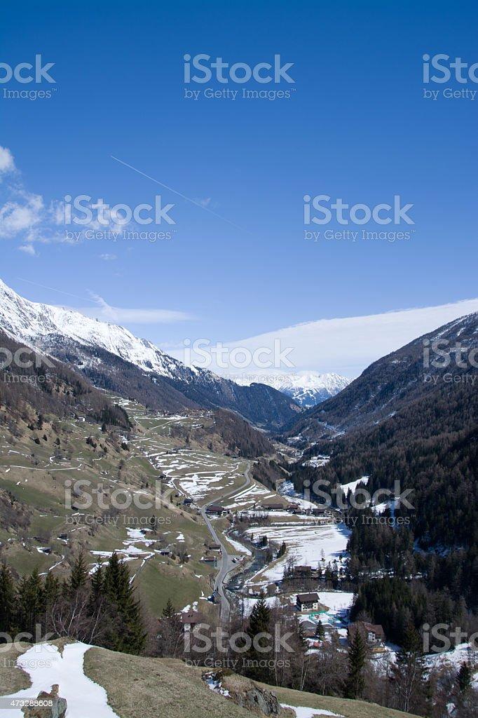 Valley Virgen, East Tyrol, Austria stock photo