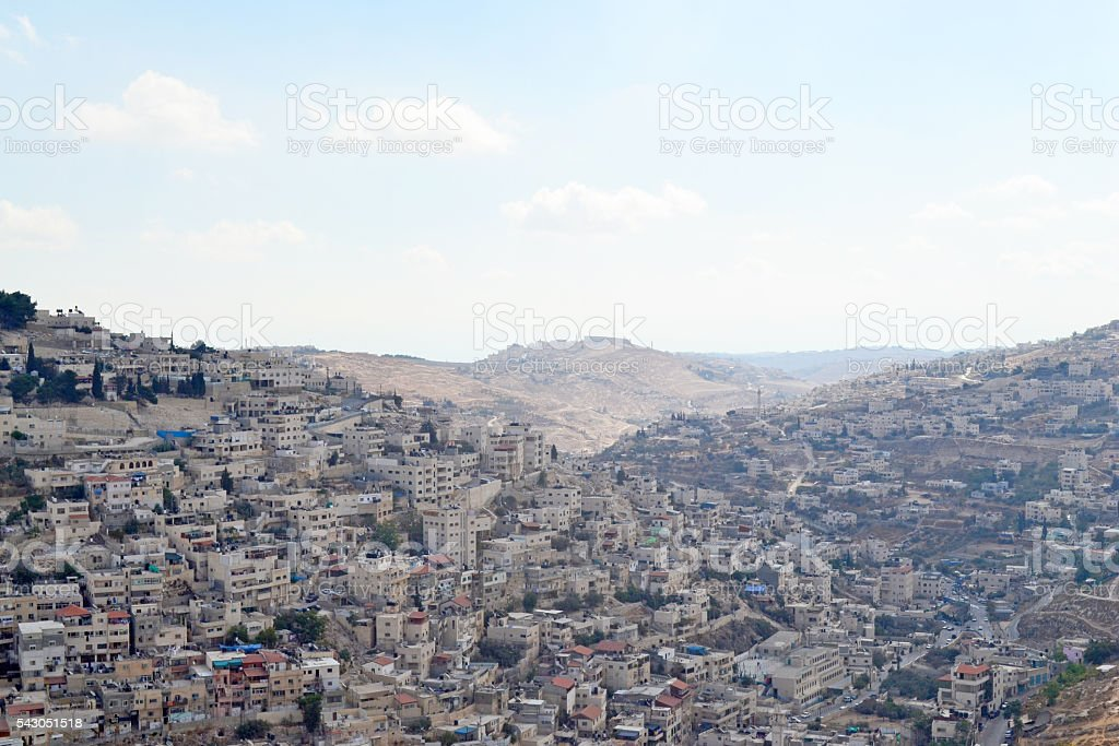 Valleys of the Kidron stock photo